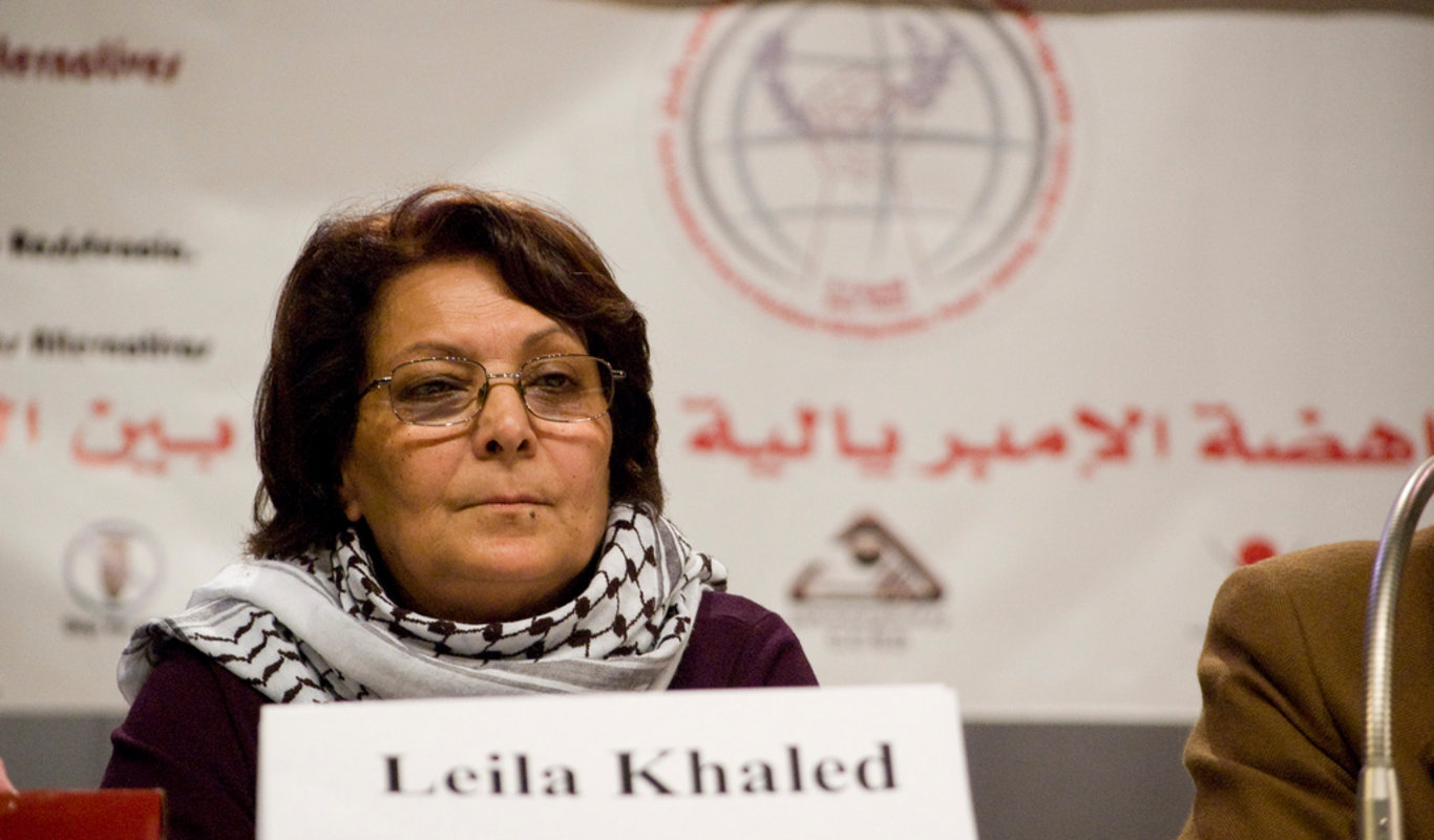 Leila Khaled.