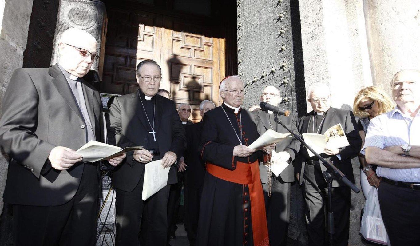 Cañizares y los obispos valencianos