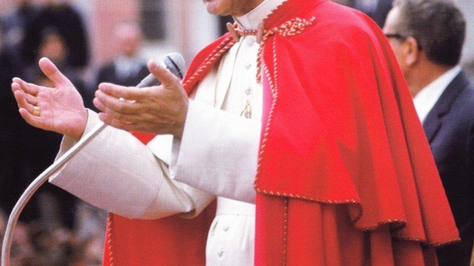 El Papa Pablo VI.