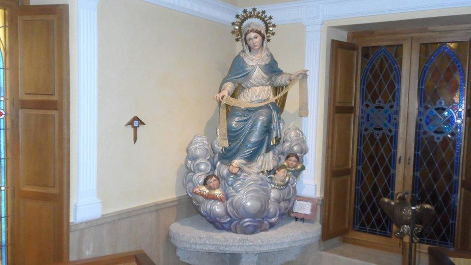 La Virgen de la Cinta de Tortosa.