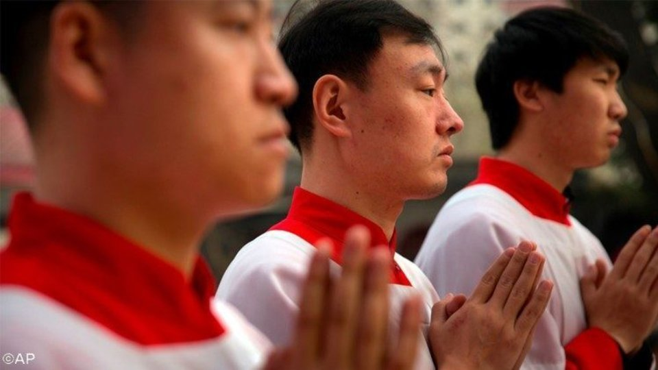 Seminaristas de China.