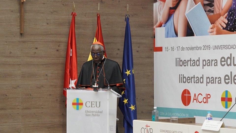 Cardenal Robert Sarah.