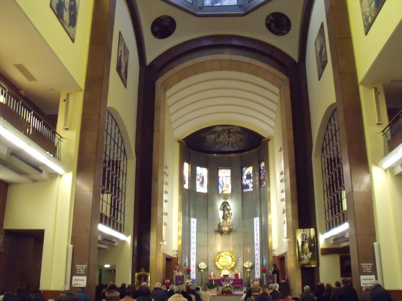 Concebida entre 1924 y 1931, es erigida como parroquia en 1965 por el arzobispo Morcillo