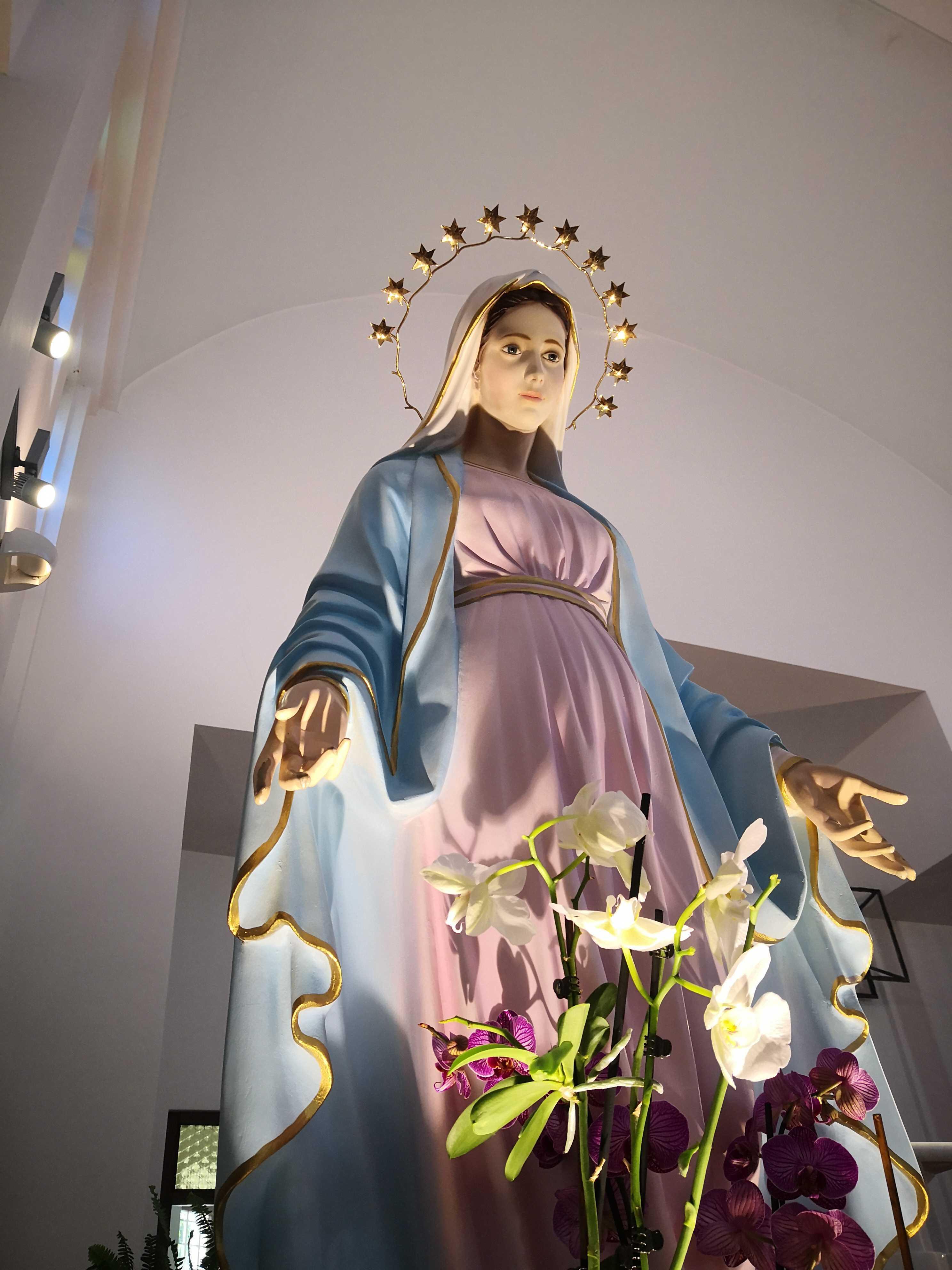 Virgen de Tihaljina en Medjugorje.
